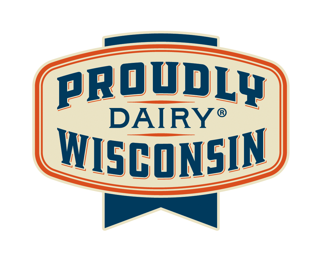 Proudly Wisconsin Dairy Badge